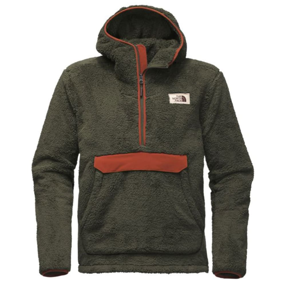 THE NORTH FACE Men's Campshire Pullover Hoodie - ZSJ-TAUPE GREEN/BROW