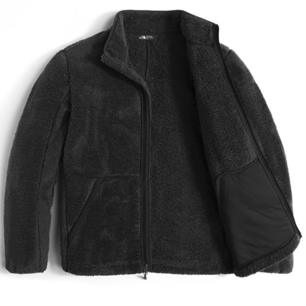 THE NORTH FACE Men's Campshire Full-Zip Fleece - JK3-TNF BLACK