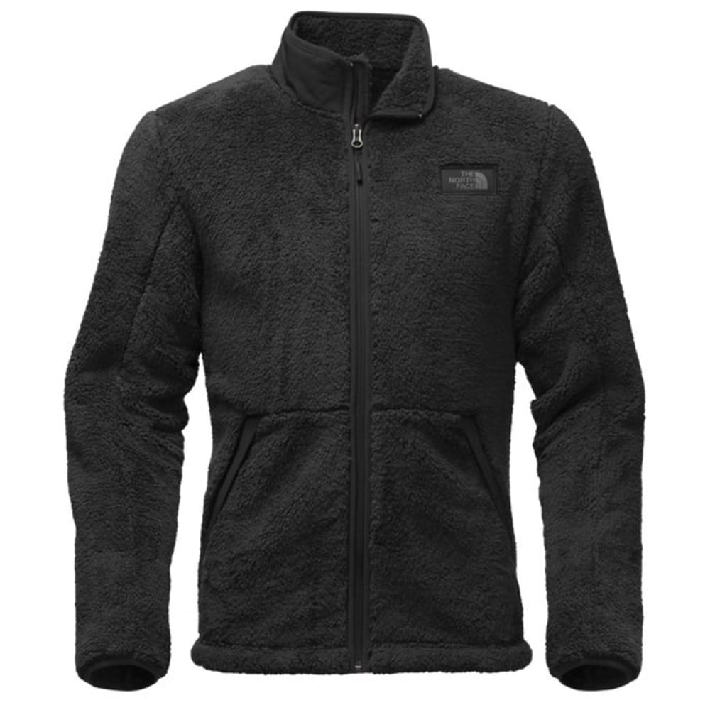 THE NORTH FACE Men's Campshire Full-Zip Fleece - JK3-TNF BLACK