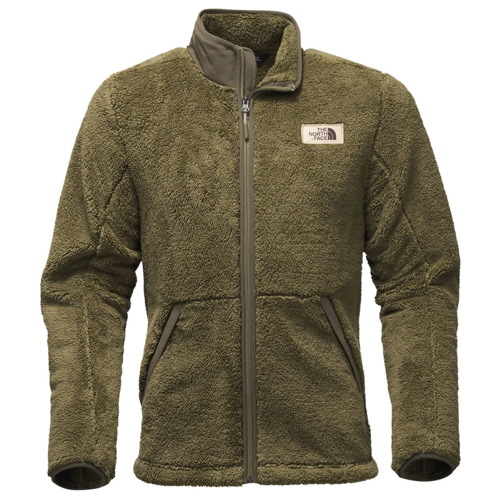 THE NORTH FACE Men's Campshire Full-Zip Fleece - 7D6-OLIVE GREEN