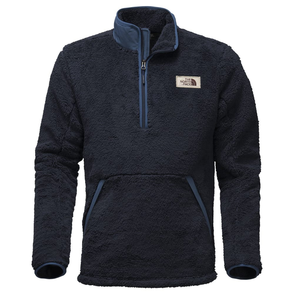 THE NORTH FACE Men's Campshire 1/2-Zip Fleece Pullover - H2G-URBAN NAVY