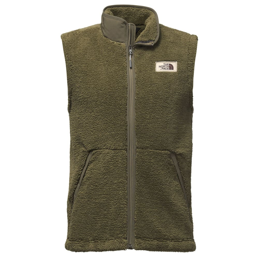 THE NORTH FACE Men's Campshire Vest - 7D6-BURNT OLIVE GREE