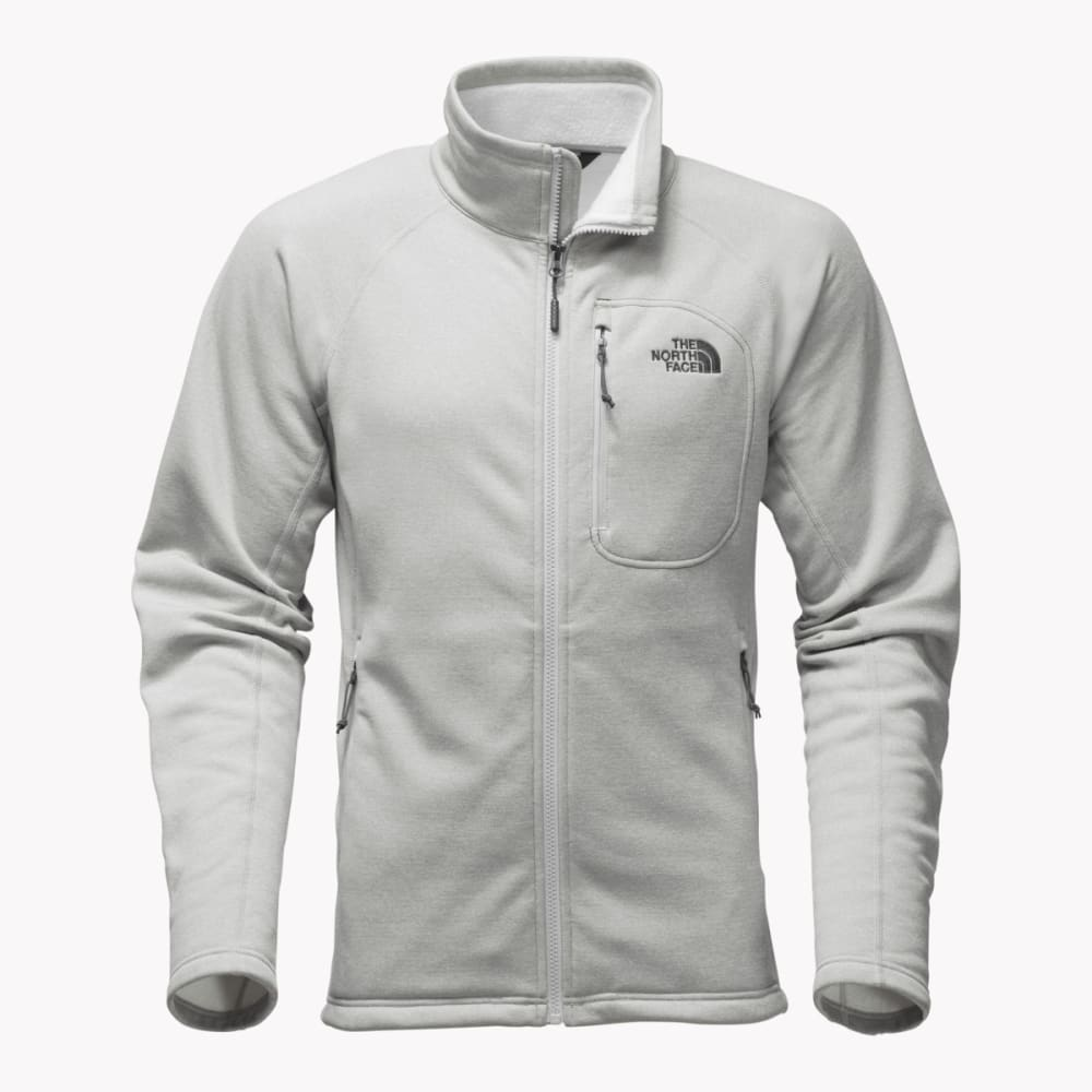 THE NORTH FACE Men's Timber Full Zip Jacket - DYX-TNF LT GREY HTR