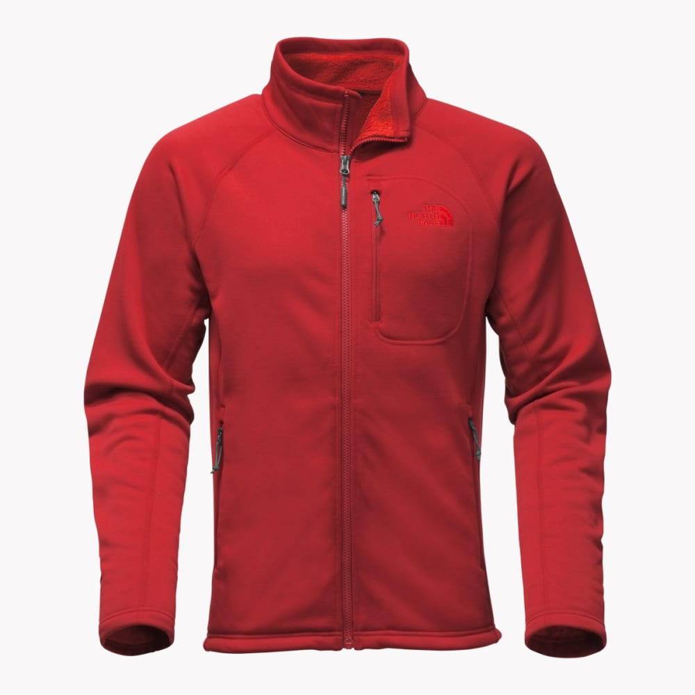 THE NORTH FACE Men's Timber Full Zip Jacket - 619-CARDINAL RED