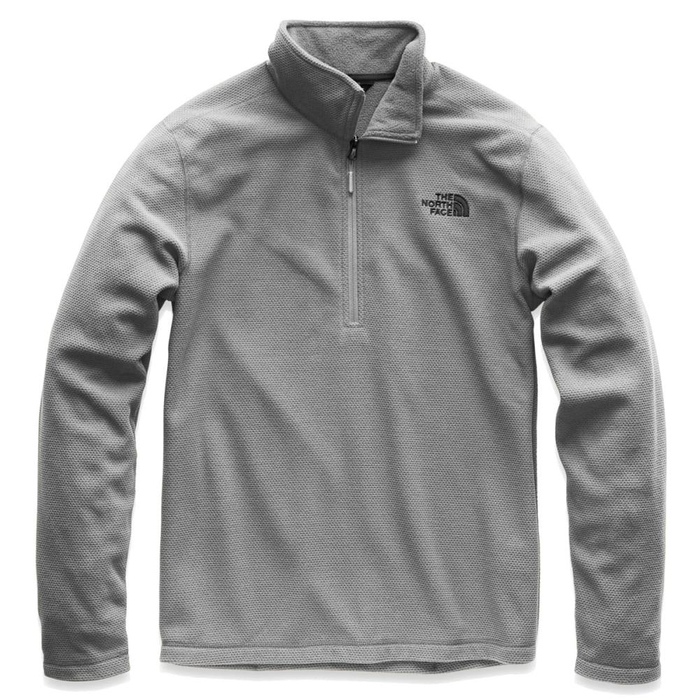 THE NORTH FACE Men's Texture Cap Rock Half-Zip Jacket - V3T MID GREY