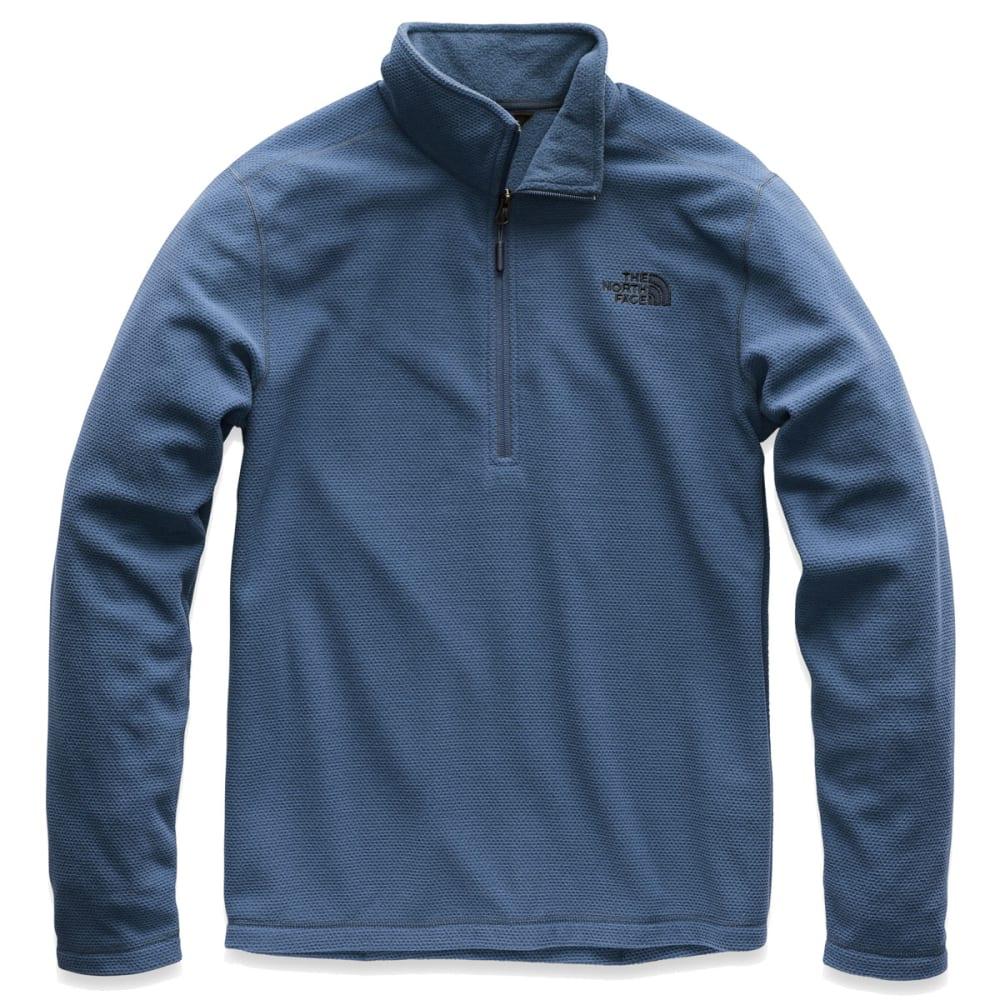THE NORTH FACE Men's Texture Cap Rock Quater Zip Jacket - HDC SHADY BLUE