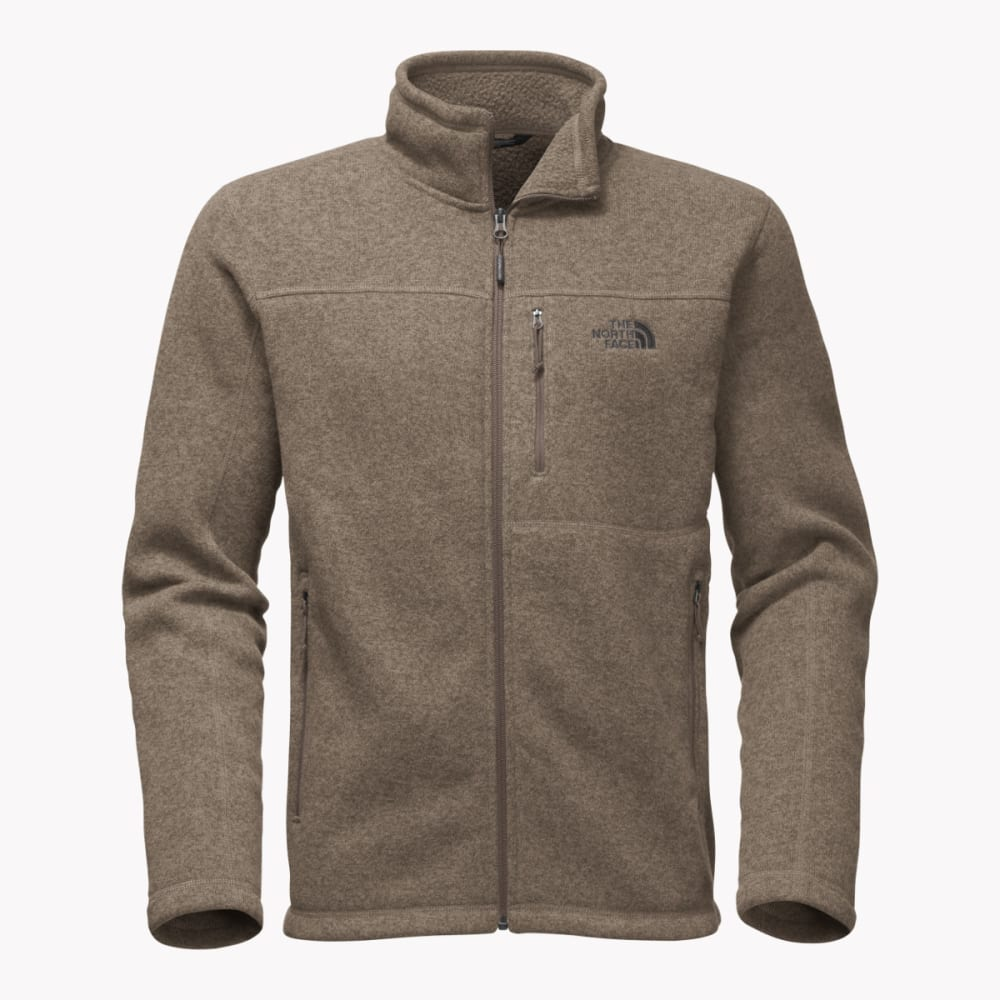 THE NORTH FACE Men's Gordon Lyons Full Zip Jacket - QBP-FALCON BRWN HTR