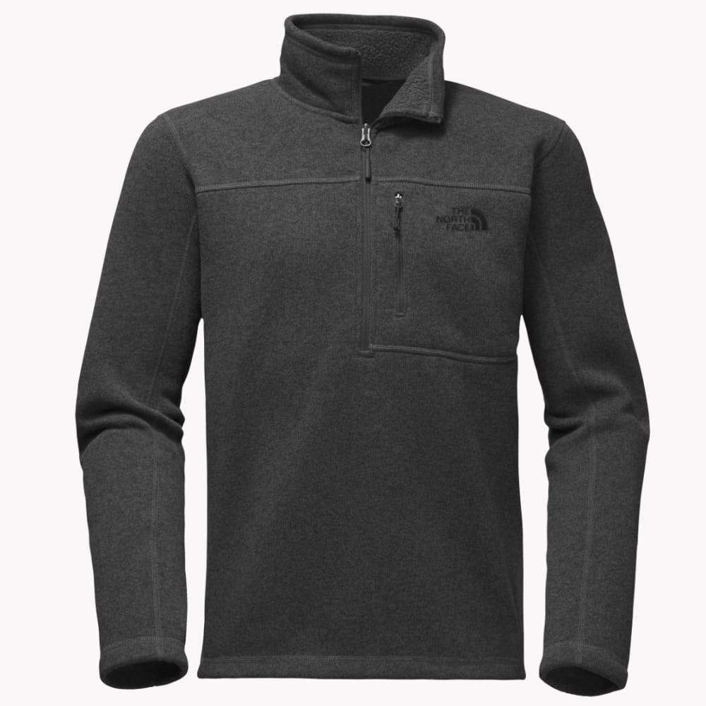 The North Face Men's Gordon Lyons Quarter Zip Sweater - DYZ-DARK GREY HEATHE