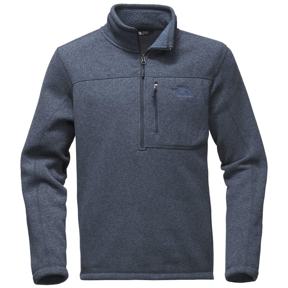 The North Face Men's Gordon Lyons Quarter Zip Sweater - AVM-URBAN NAVY HTR