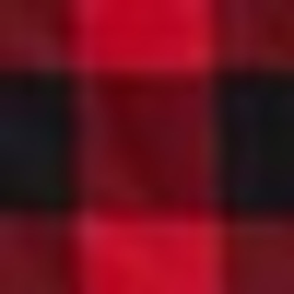 Q8V-RAGE RED PLAID