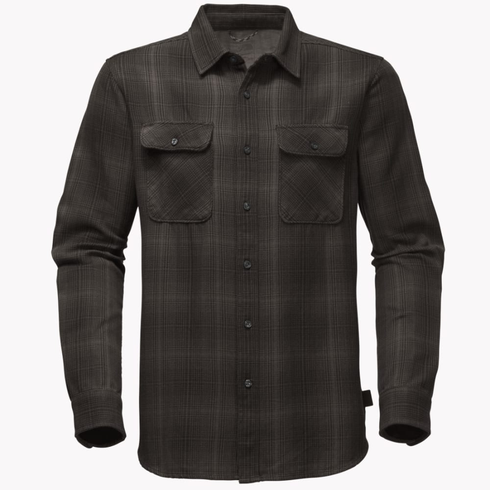 THE NORTH FACE Men's Long-Sleeve Alpine Zone Shirt - U34-ASPHALT GREY PLA