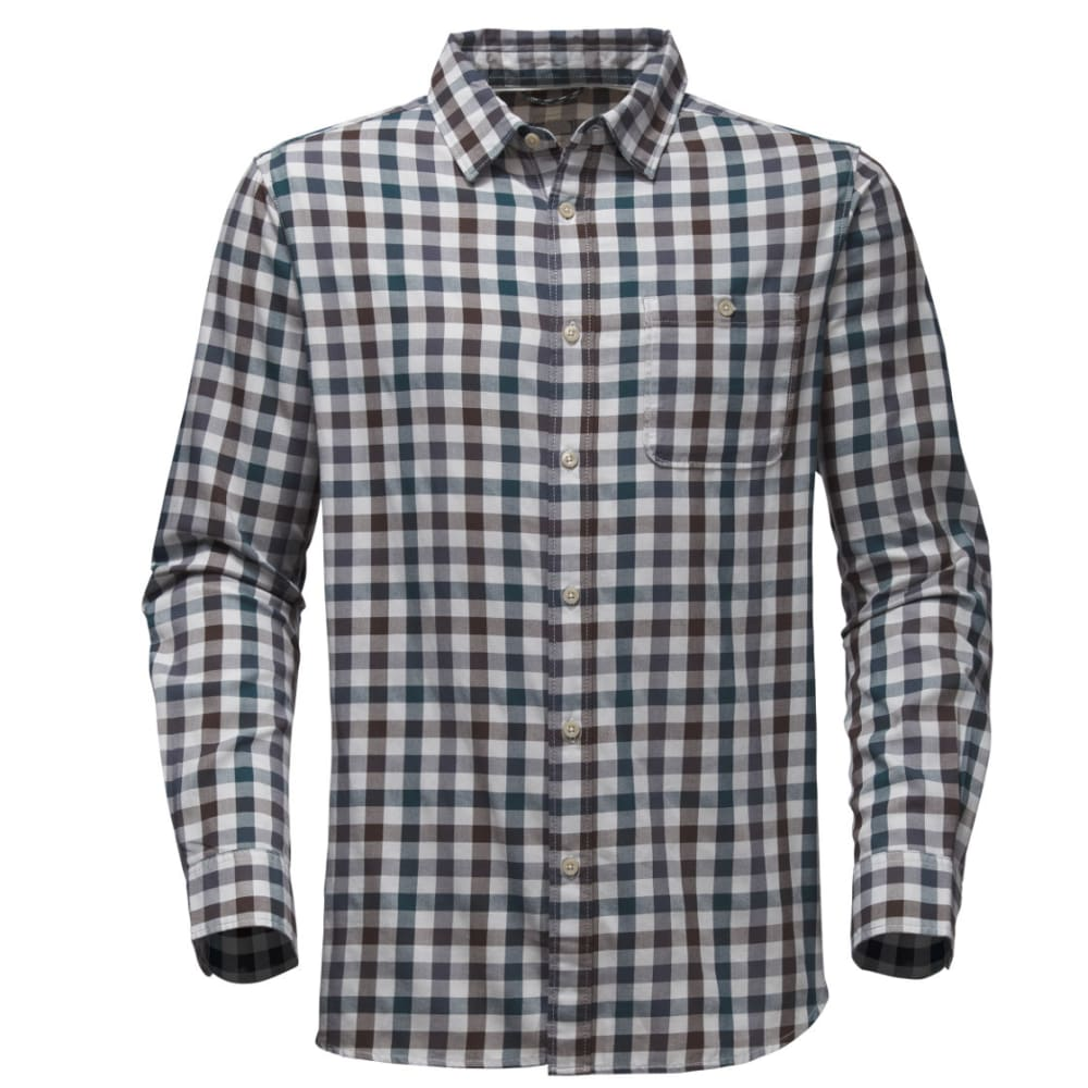 THE NORTH FACE Men's Hayden Pass Long-Sleeve Shirt - A8Y-HI RISE GRY PLAI