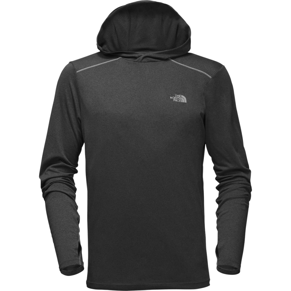 THE NORTH FACE Men's Reactor Hoodie - DYZ-DARK GRY HEATHER