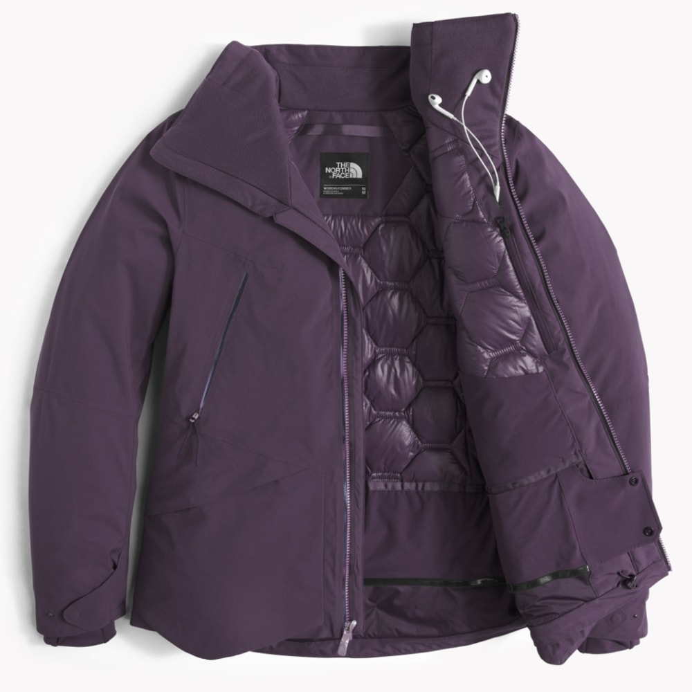 THE NORTH FACE Women's Diameter Down Hybrid Jacket - 374-DARK EGGPLANT PU