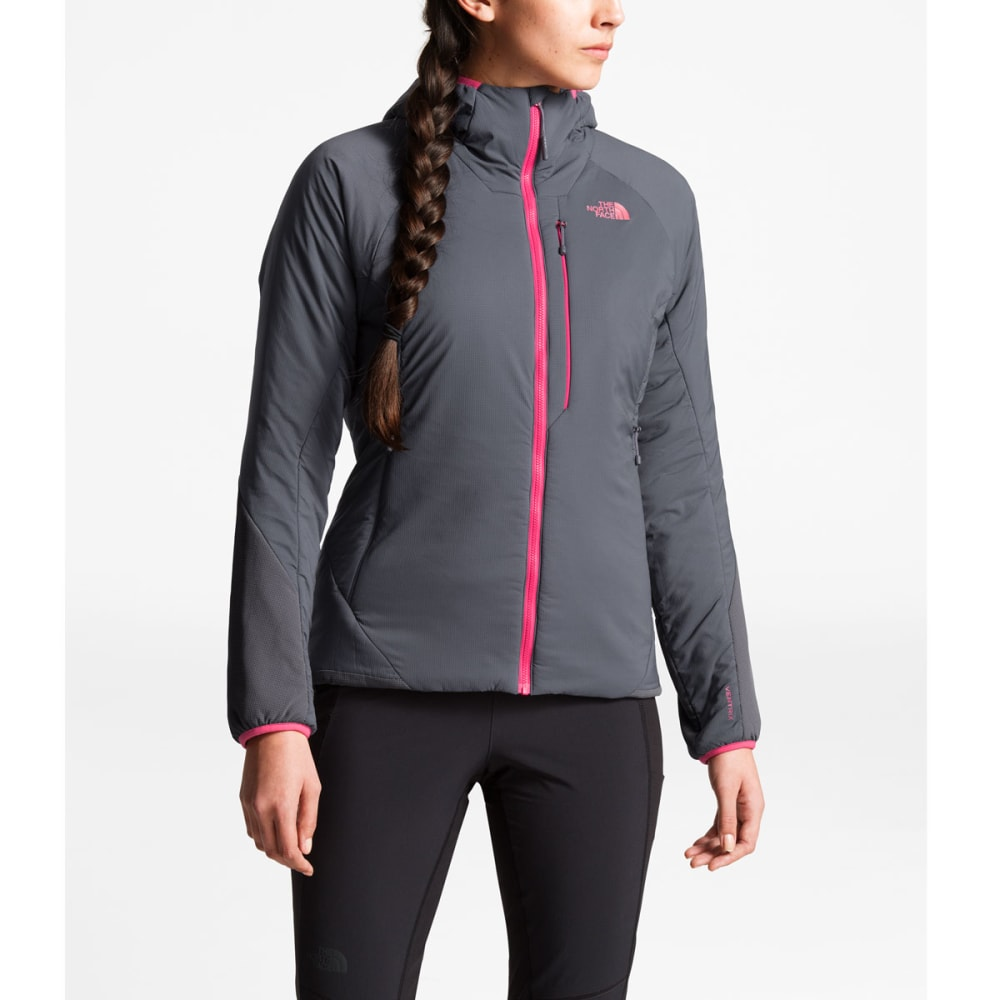 THE NORTH FACE Women's Ventrix Hoodie Jacket - 6GS PERISCOPE GREY