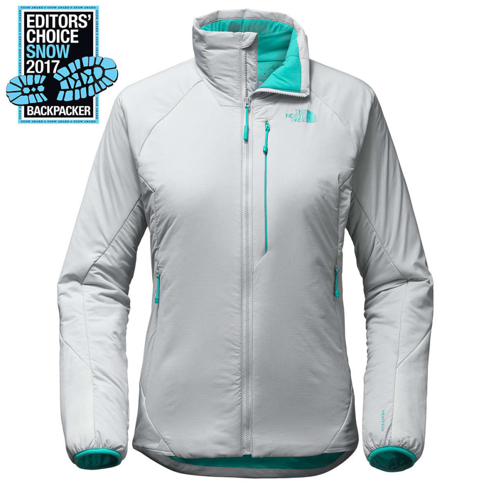THE NORTH FACE Women's Ventrix Jacket - ZQQ-HIGH RISE GREY