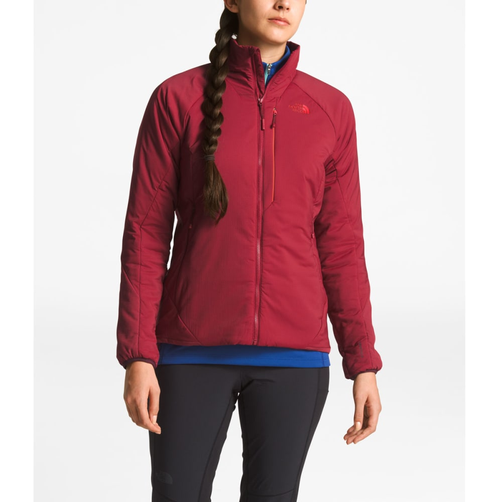 THE NORTH FACE Women's Ventrix Jacket - 7BL-RUMBA RED