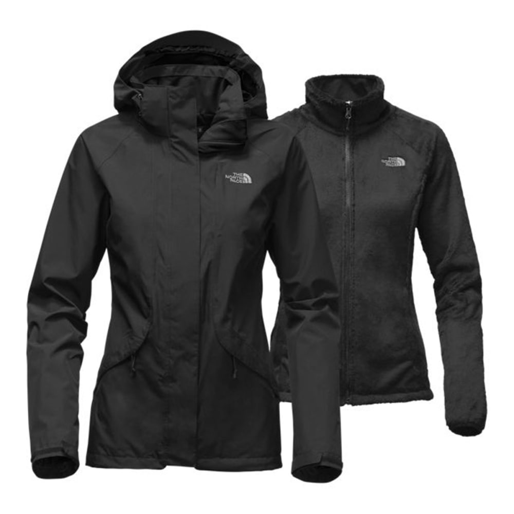 THE NORTH FACE Women's Boundary Triclimate Jacket - JK3-TNF BLACK