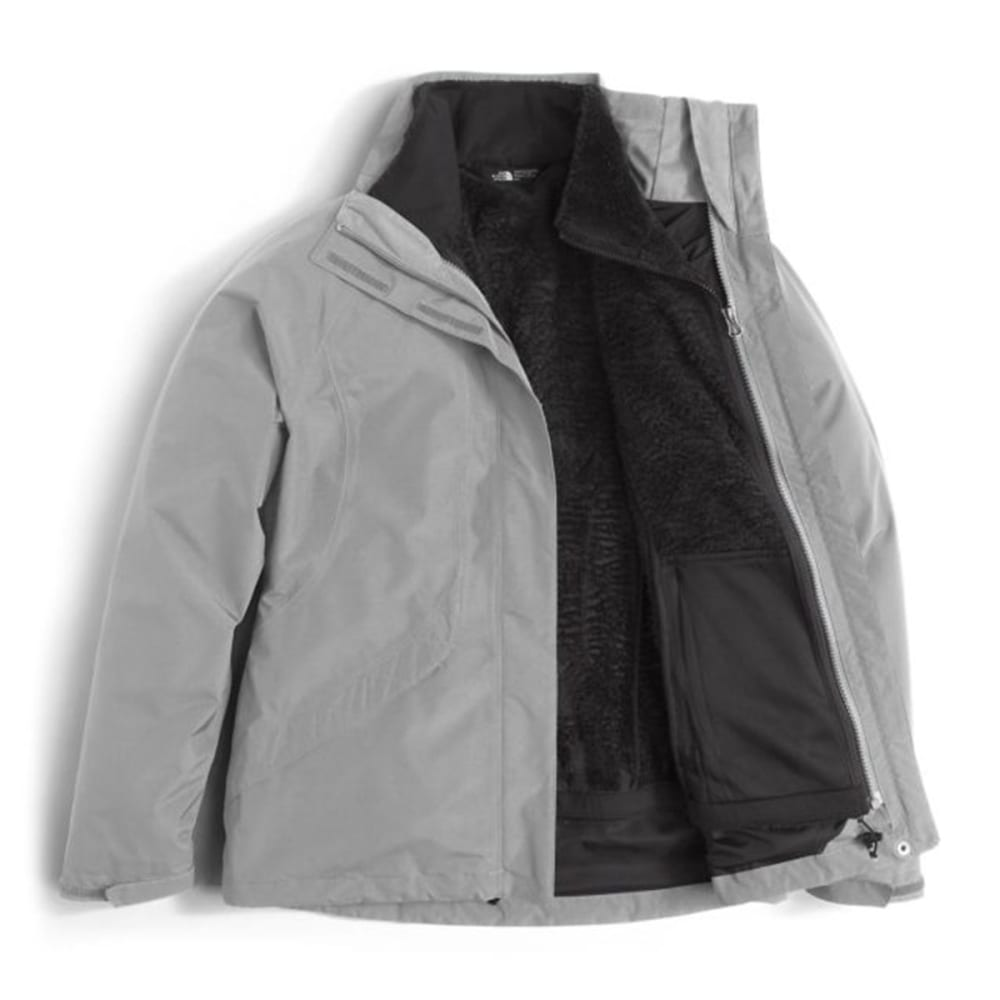 THE NORTH FACE Women's Boundary Triclimate Jacket - V3T-MID GREY