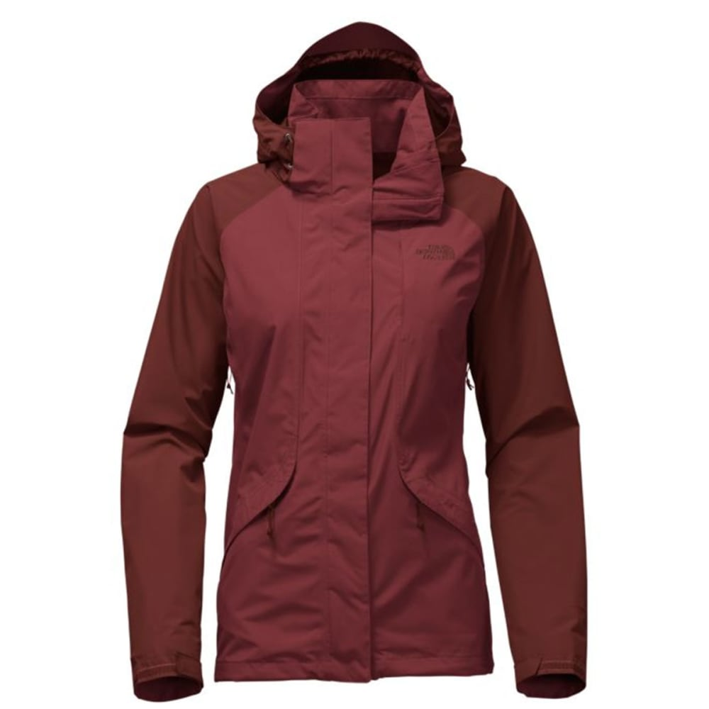 THE NORTH FACE Women's Boundary Triclimate Jacket - WDM-BAROLO RED/S RED