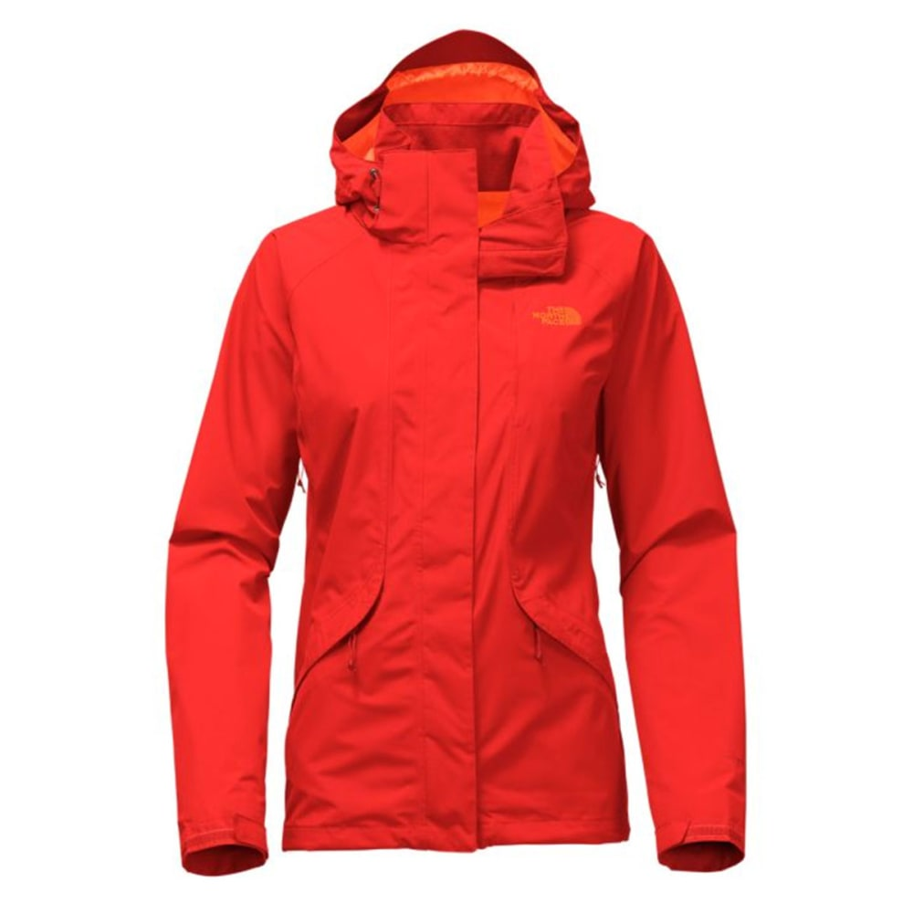 THE NORTH FACE Women's Boundary Triclimate Jacket - H9K-FIRE BRICK RED