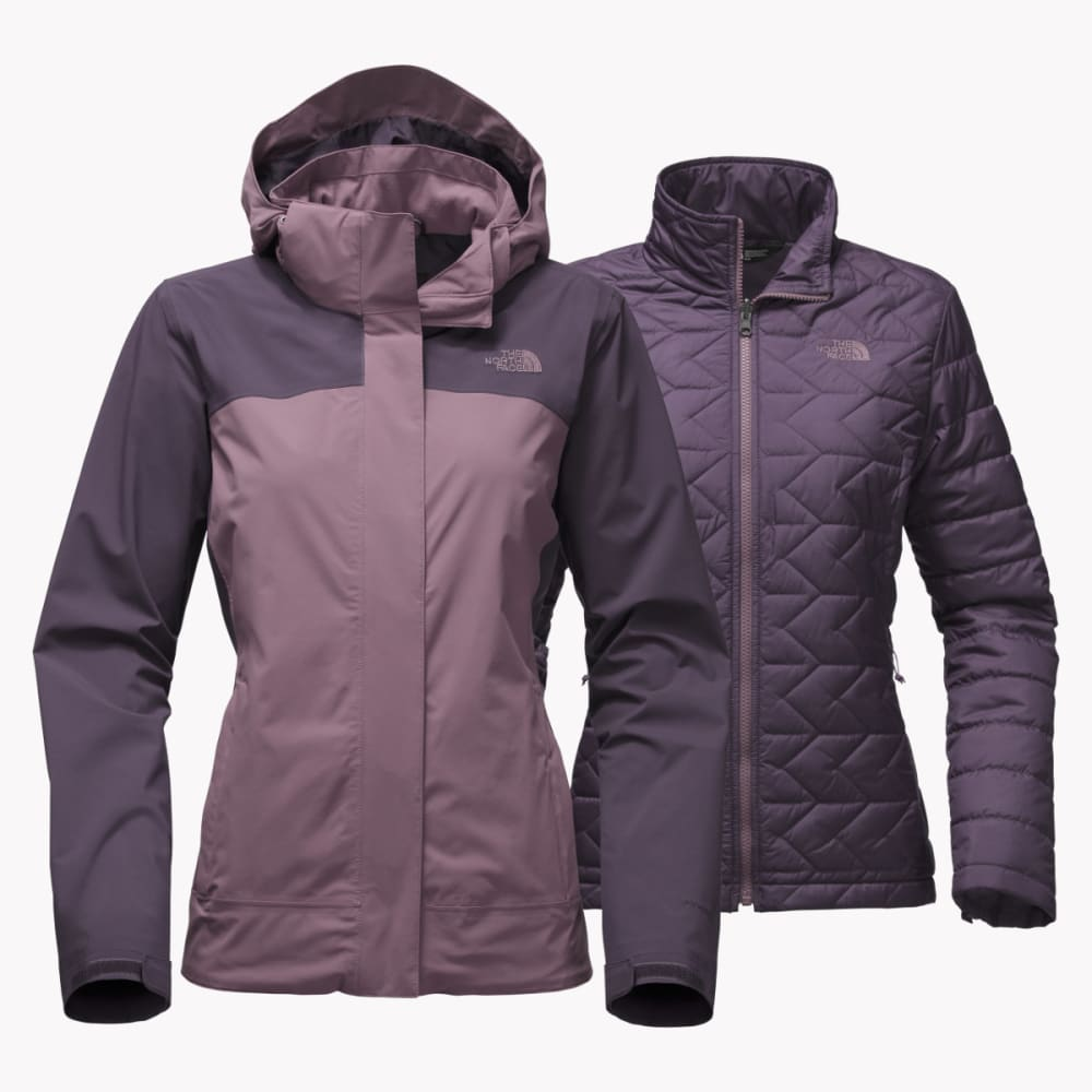THE NORTH FACE Women's Carto Triclimate Jacket - WEC-BLACK PLUM