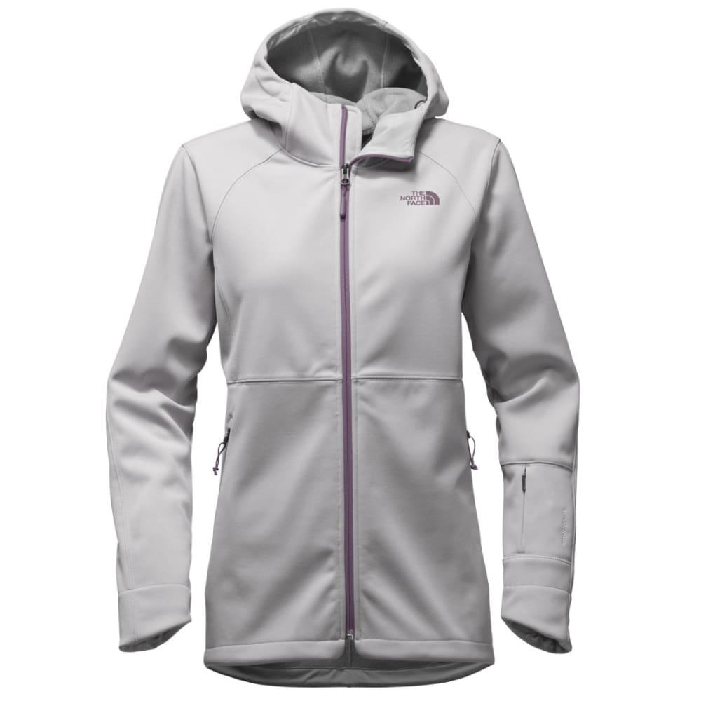 THE NORTH FACE Women's Apex Risor Hoodie - WQT-TNF LT GREY