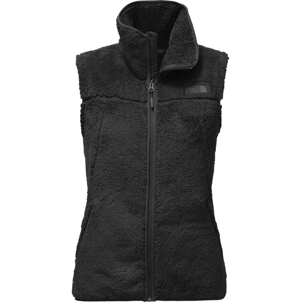 THE NORTH FACE Women's Campshire Fleece Vest - JK3- TNF BLACK