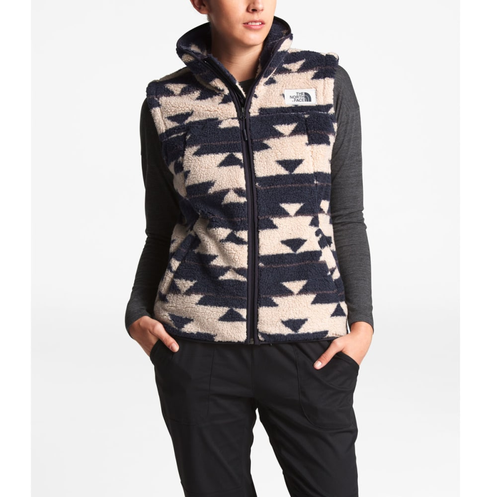 THE NORTH FACE Women's Campshire Fleece Vest - 6CC-PEYOTE BEIGE CA