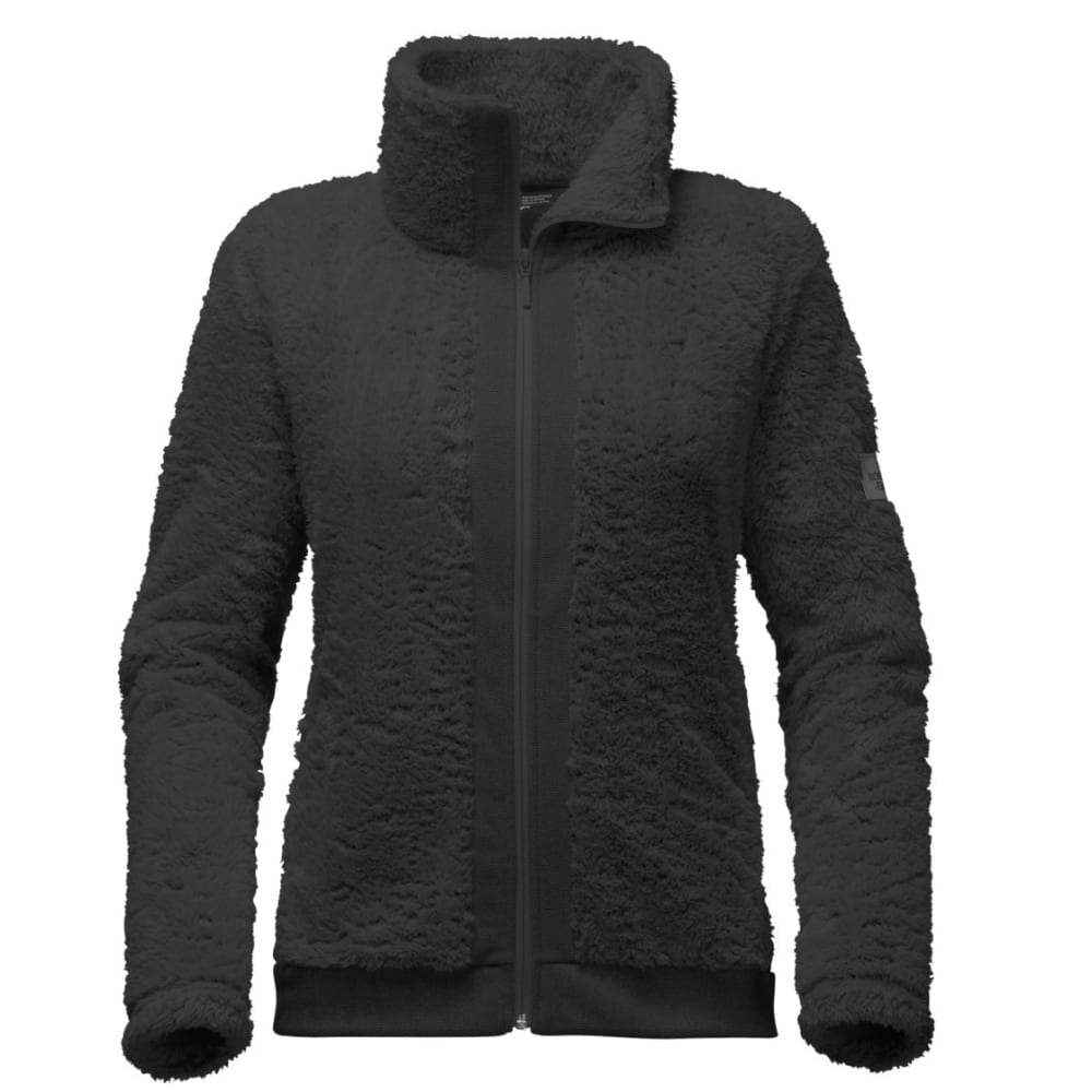 THE NORTH FACE Women's Furry Fleece Full Zip - JK3-TNF BLACK