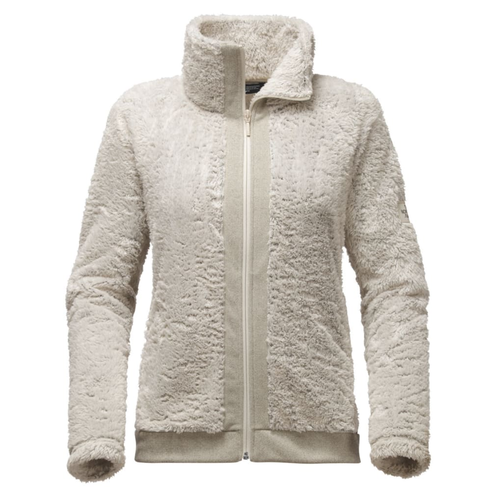 THE NORTH FACE Women's Furry Fleece Full Zip - NXX-RAINY DAY IVORY