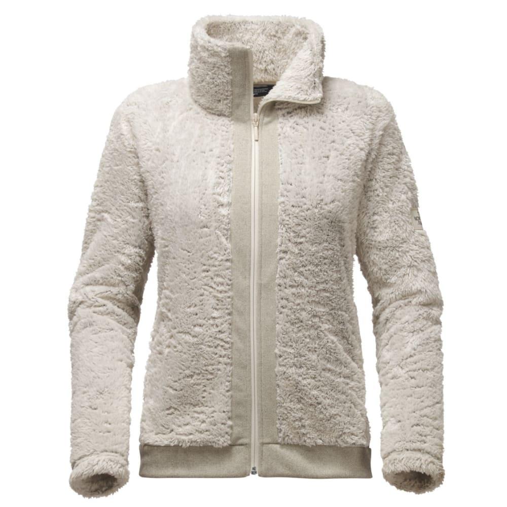 THE NORTH FACE Women's Furry Fleece Full Zip - NXX-RAINY DAY IVORY
