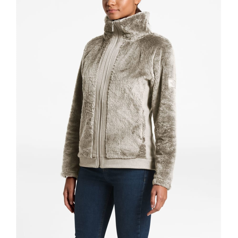 THE NORTH FACE Women's Furry Fleece Full Zip - 11P-VINTAGE WHITE
