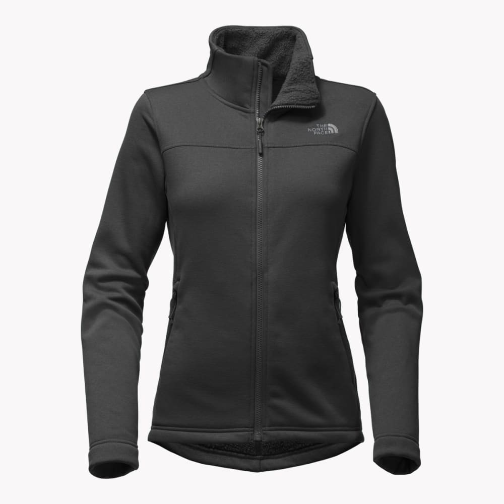 THE NORTH FACE Woman's Timber Full Zip Jacket - JK3-TNF BLACK