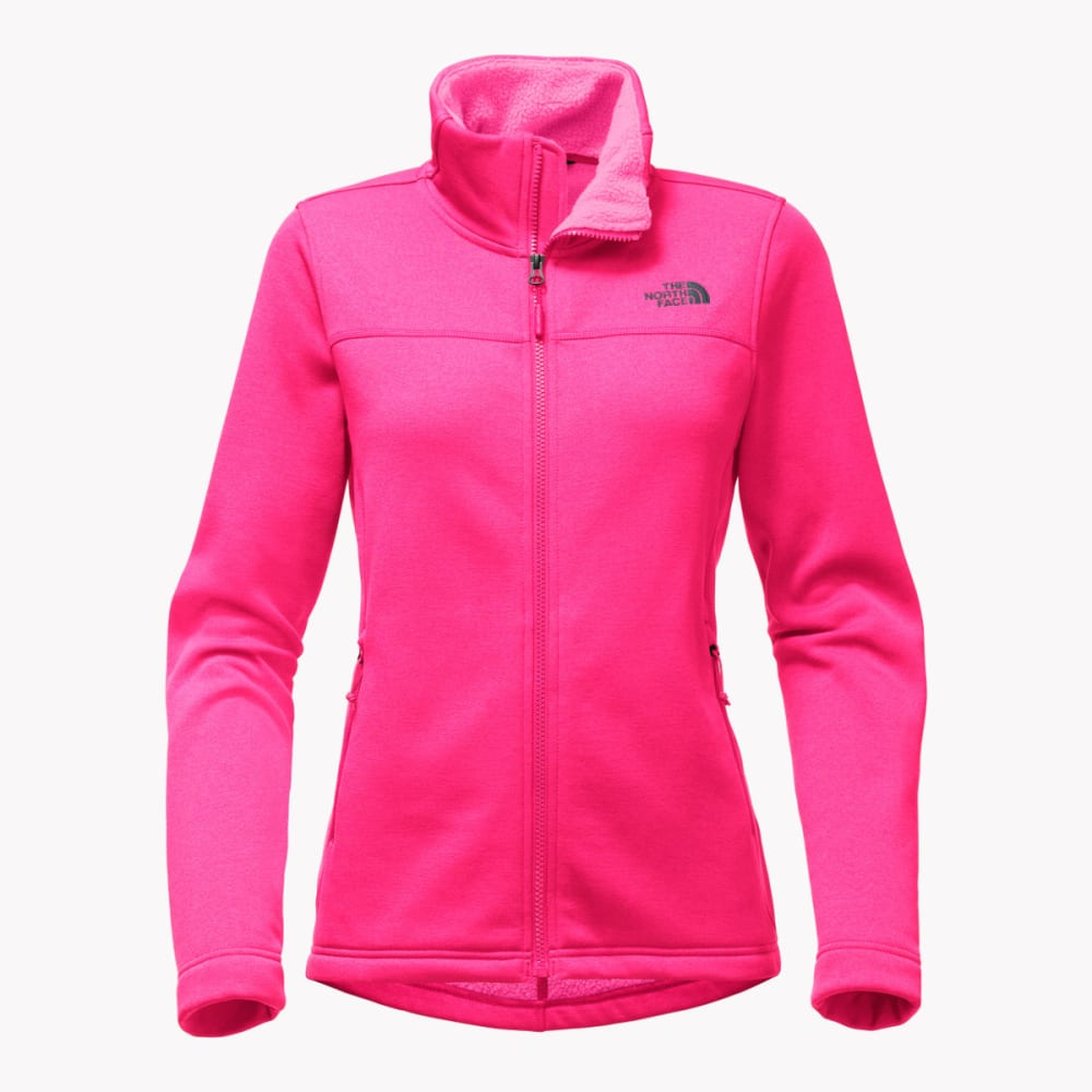 THE NORTH FACE Woman's Timber Full Zip Jacket - BA0-PETTICOAT PINK H