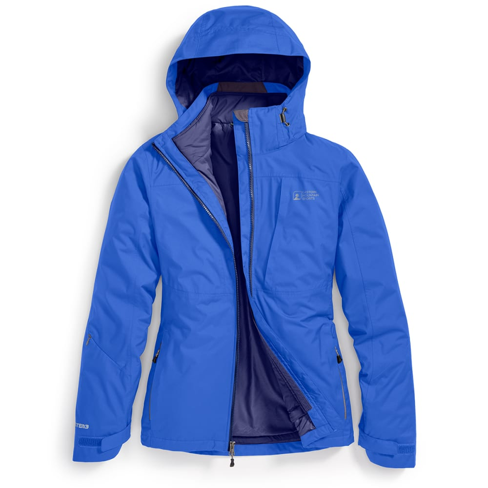 EMS® Women's Catskill 3-in-1 Jacket - DEEP ULTRAMARINE