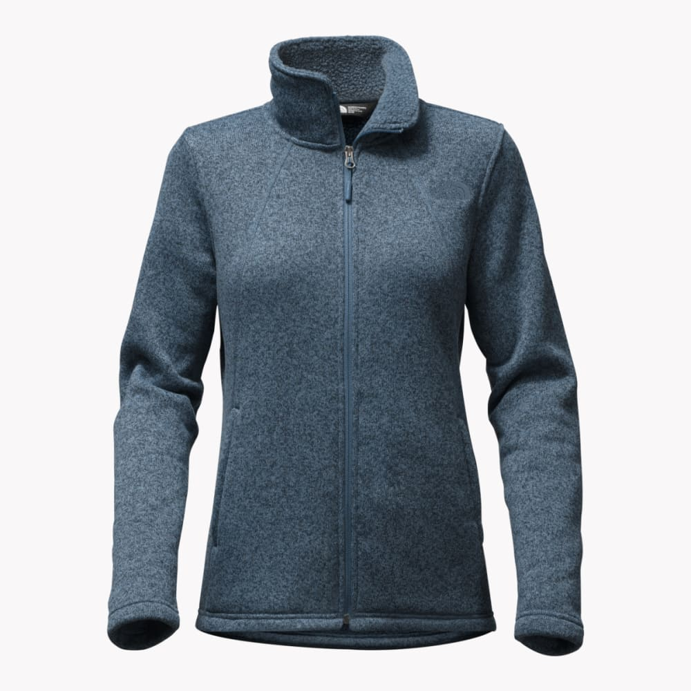 THE NORTH FACE Women's Crescent Full Zip Jacket - H0V-INK BLUE HTR
