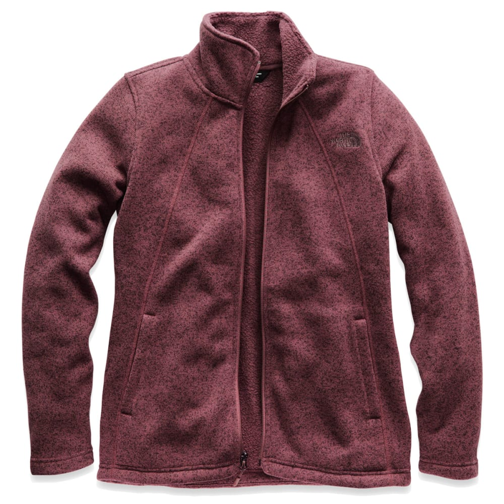 THE NORTH FACE Women's Crescent Full Zip Jacket - 4AX-FIG HEATHER