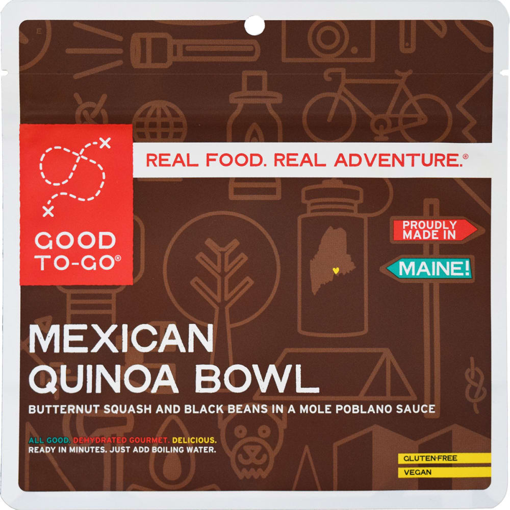 GOOD TO-GO Mexican Quinoa Bowl Single Packet - NO COLOR