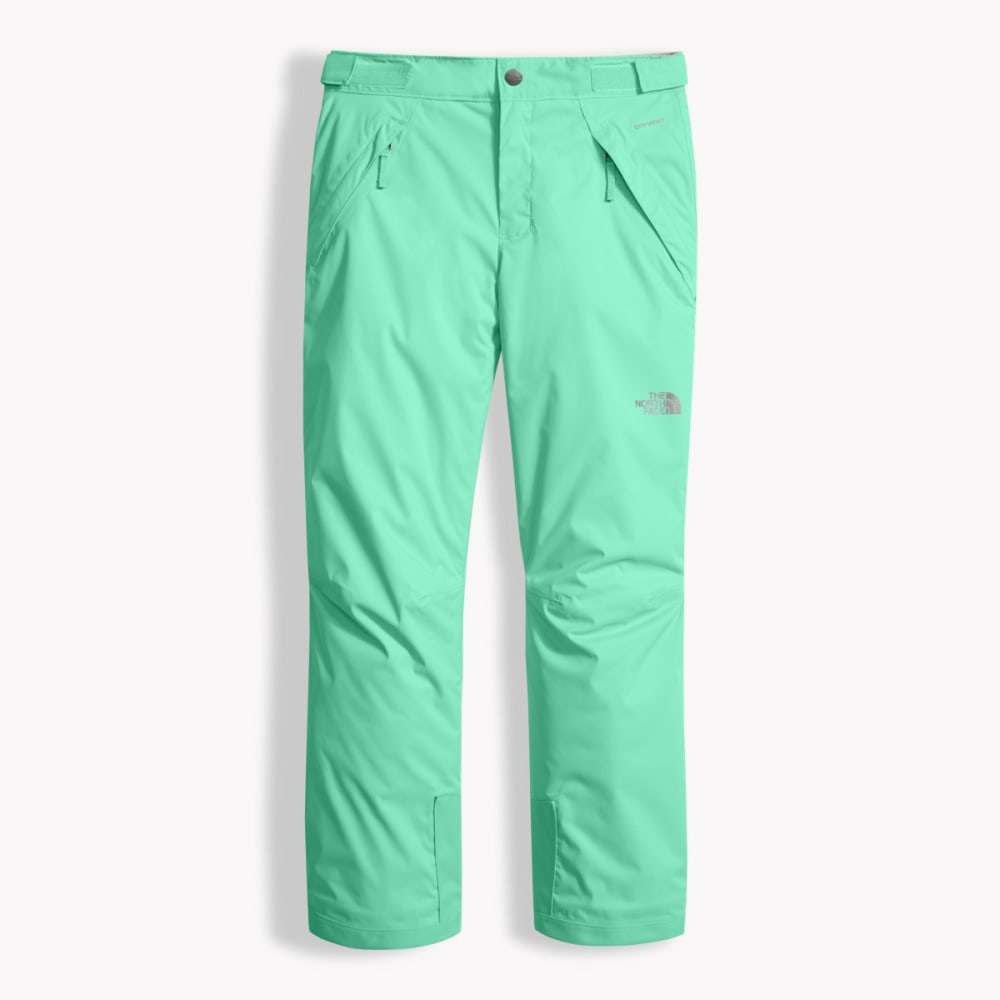 THE NORTH FACE Girls' Freedom Insulated Pants - RWW-BERMUDA GRN