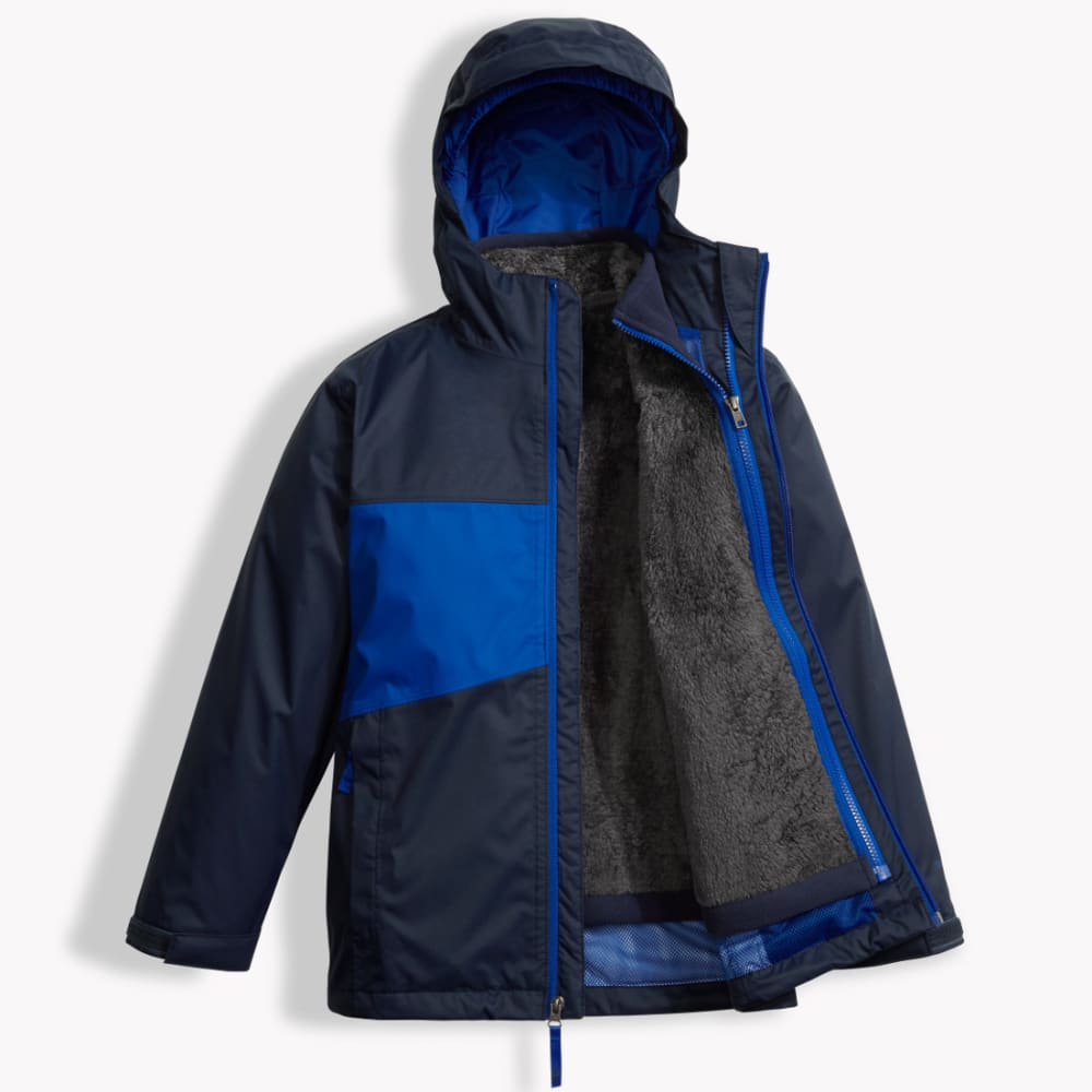 THE NORTH FACE Boys' Chimborazo Triclimate Jacket - 4H4-BRIGHT COBALT BL