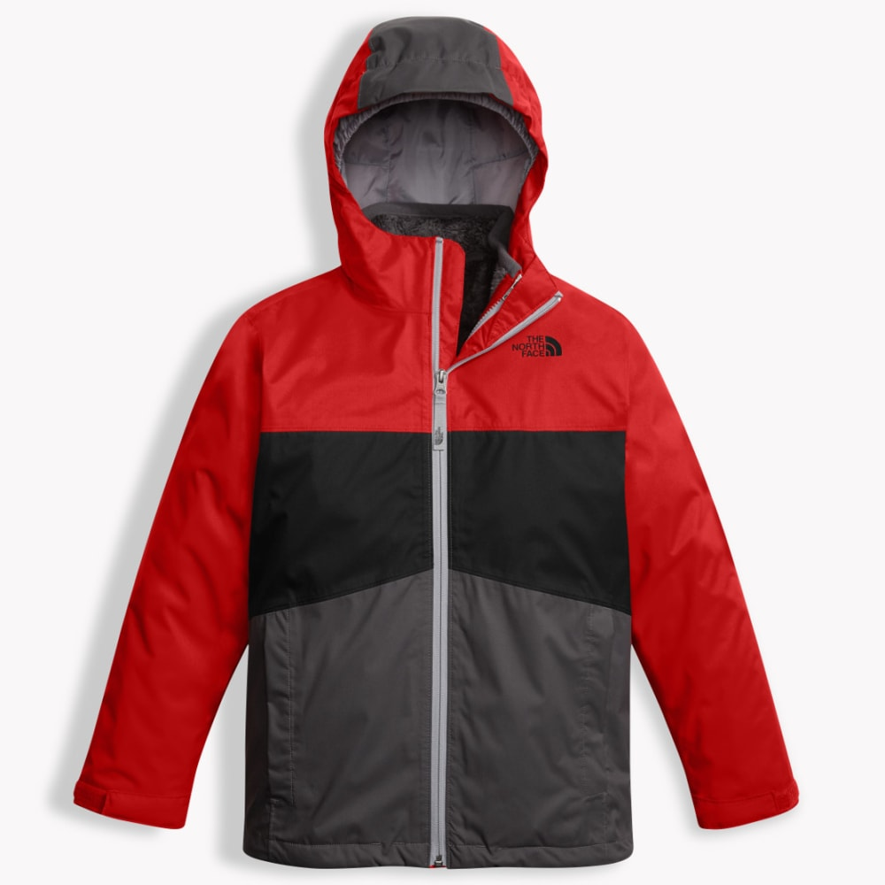 THE NORTH FACE Boys' Chimborazo Triclimate Jacket - 682-TNF RED