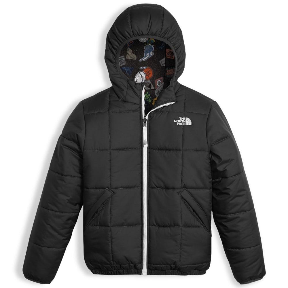 THE NORTH FACE Boys' Reversible Perrito Jacket - JK3-TNF BLACK