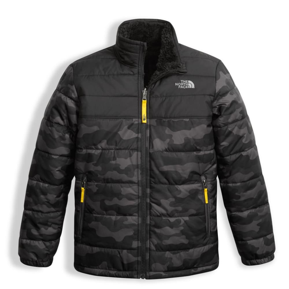 THE NORTH FACE Boy's Reversible Mount Chimborazo Jacket - WYG-GRAPH GREY CAMO