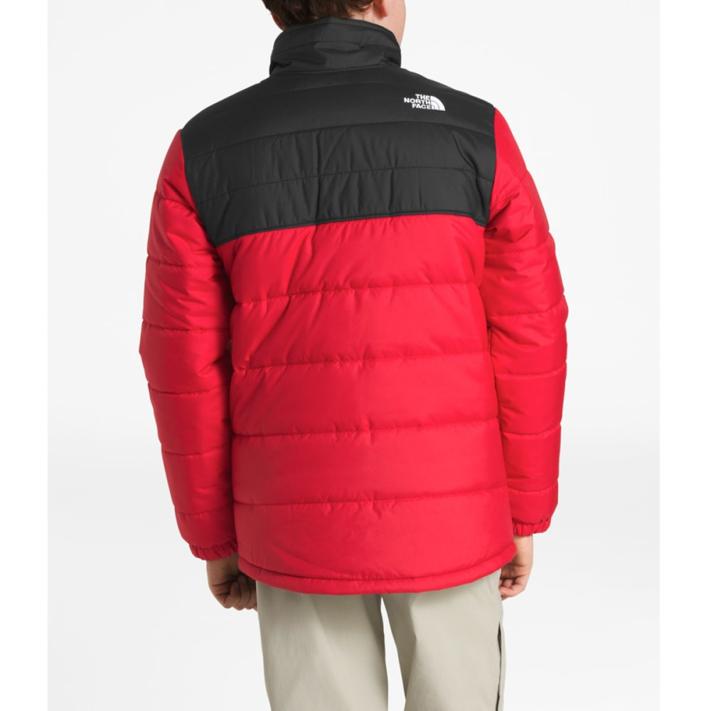 THE NORTH FACE Boy's Reversible Mount Chimborazo Jacket - 682-TNF RED