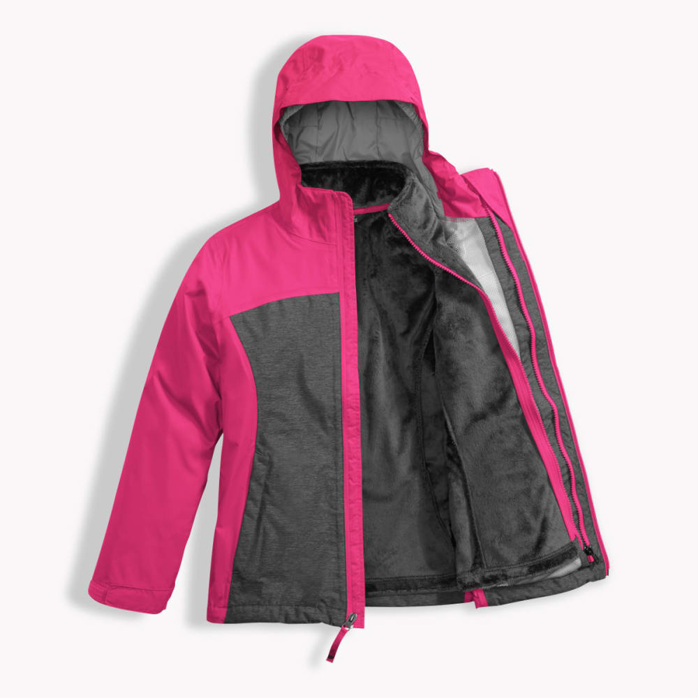 THE NORTH FACE Girl's Osolita Triclimate Jacket - 79M-PETTICOAT PINK