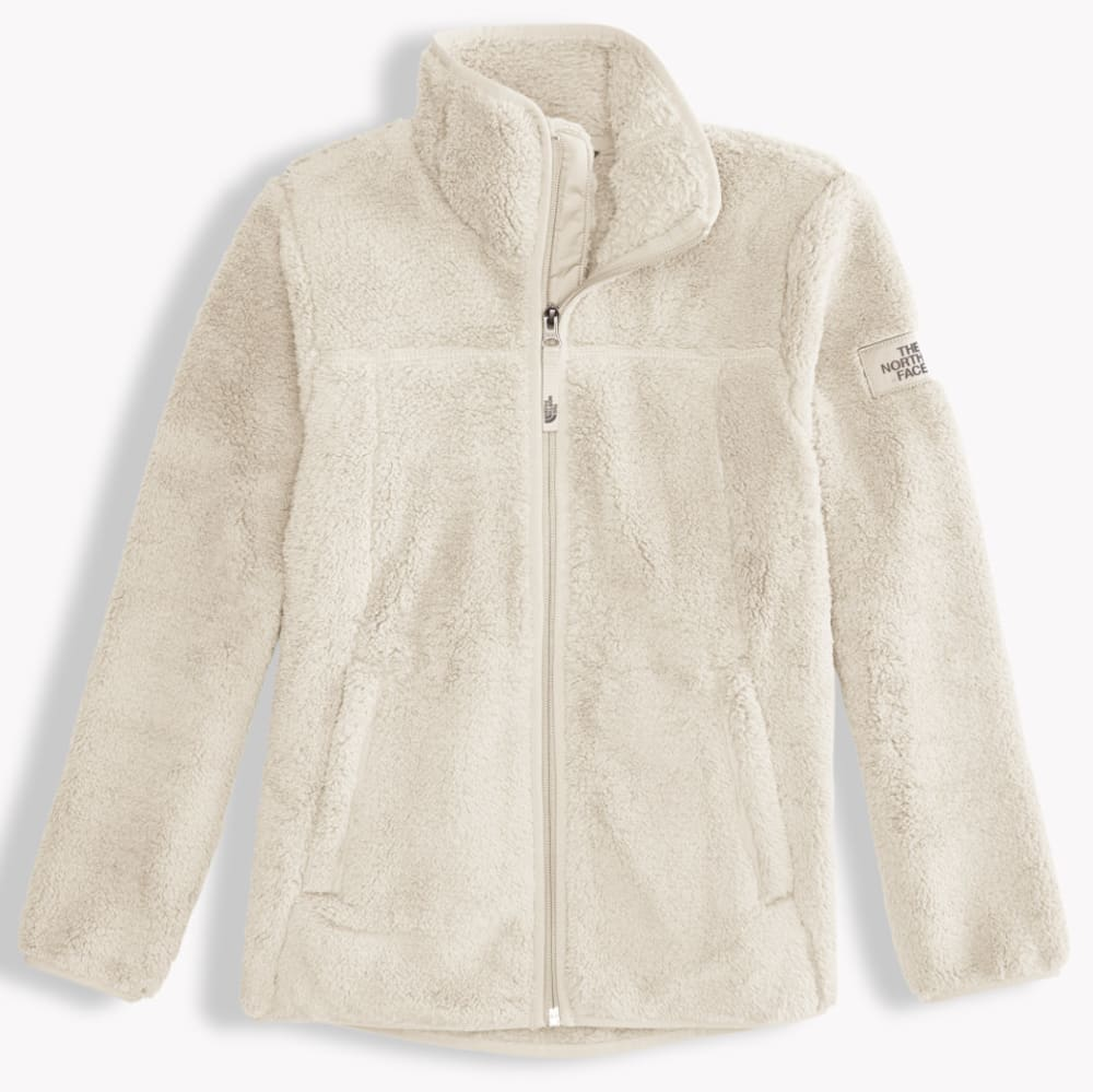 THE NORTH FACE Girls' Campshire Full Zip Jacket - 11P-VINTAGE WHITE