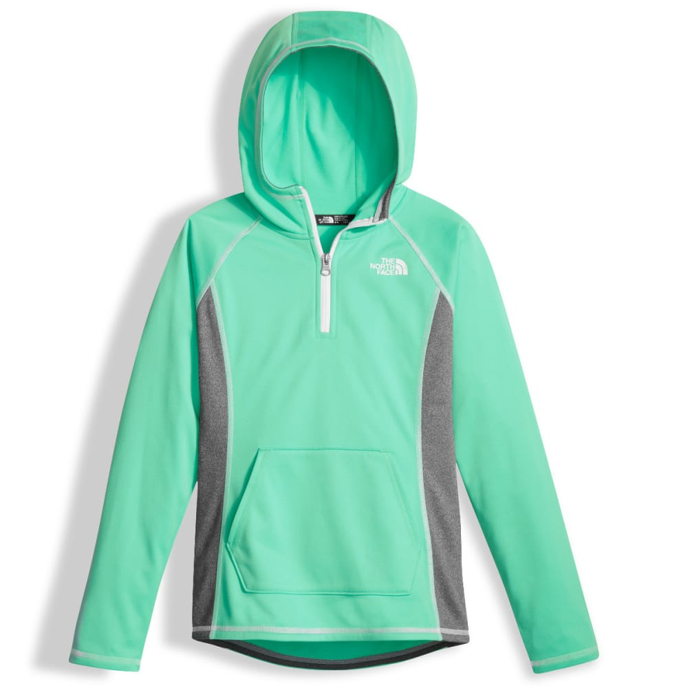 THE NORTH FACE Girls Tech Glacier Quarter Zip - RWW-BERMUDA GREEN