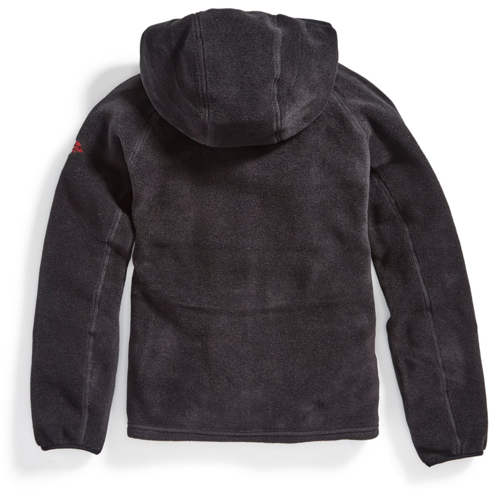 EMS Boys' Classic 200 Fleece Hoodie - BLACK
