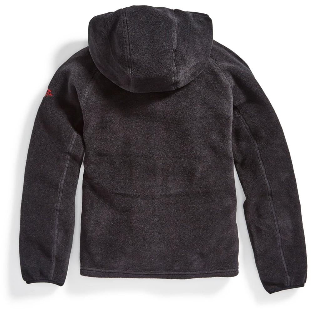 EMS Boys' Classic 200 Fleece Hoodie - BLACK